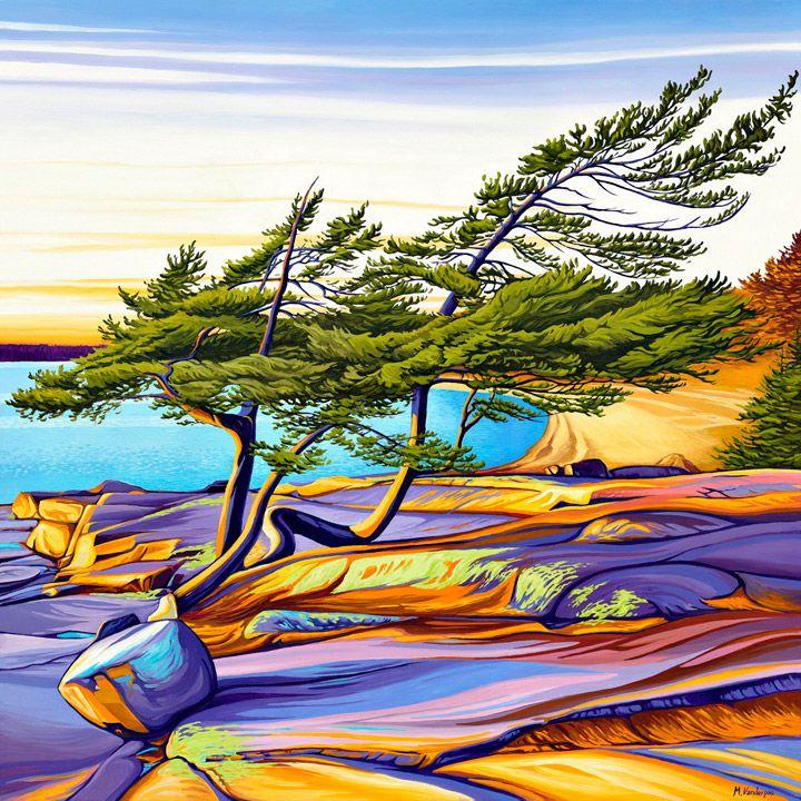 """""""Entangled Pines"""" by Margarethe Vanderpas"""