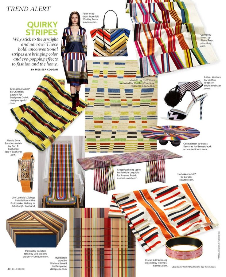 I saw this in the Jan/Feb 2015 issue of @ELLEDECOR.   http://bit.ly/1pTydyx