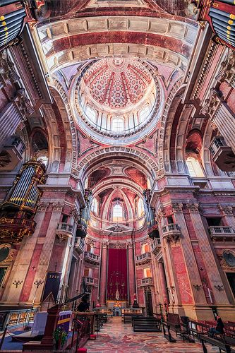 Basílica de do Palácio de Mafra, Mafra - Portugal by Joe Daniel Price.
