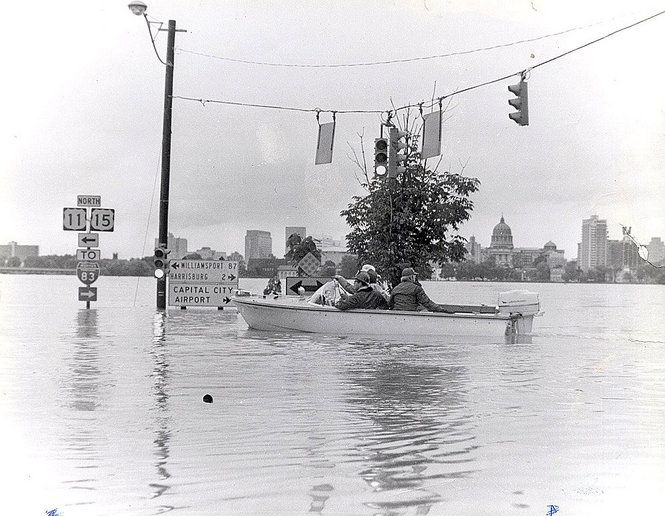 Hurricane Agnes 1972 |