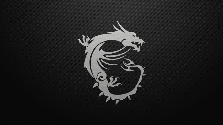Msi Dragon Logo Dark Background 4k Cong Nghệ