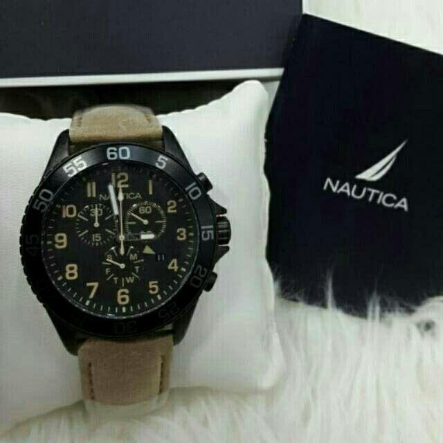 Saya menjual Jam Tangan Pria Nautica NAI17507G Black Leather ( Kulit ) Original Murah seharga Rp2.050.000. Dapatkan produk ini hanya di Shopee! https://shopee.co.id/azshop30/196446657 #ShopeeID