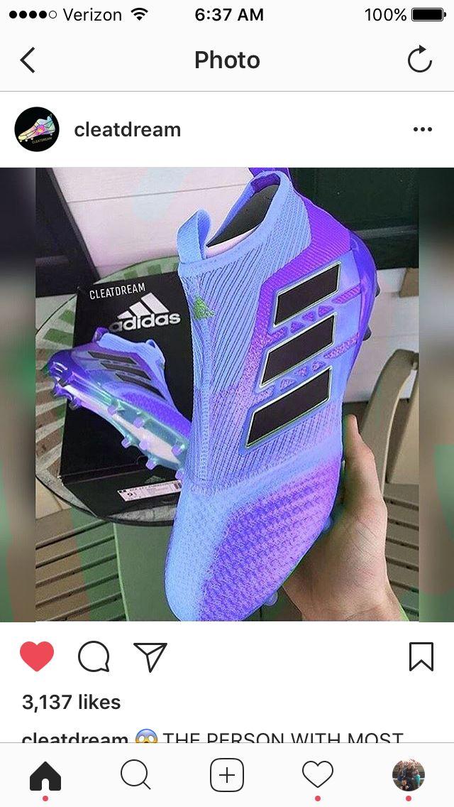 Zapatos impresionantes #futbolbotines