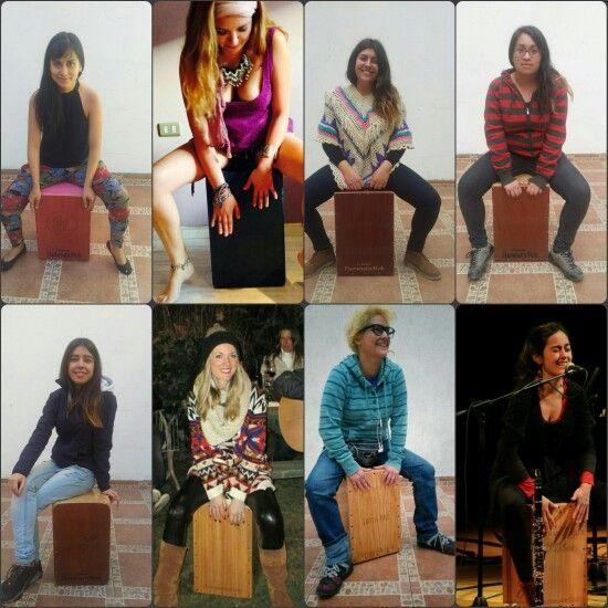 En Cajones Flamentr3lok las mujeres son protagonistas!!   #APuroCajon #CajonPeruano #CajonFlamenco #ArteEnMadera #SonidoHechoAMano #Flamentr3lok