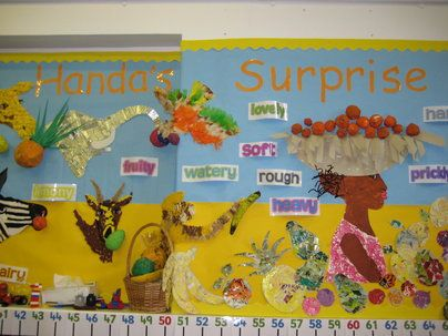 Handas Surprise, class display, Handas Surprise, Story Book