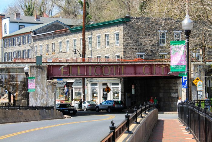 4) Go antique shopping in Historic Ellicott City.