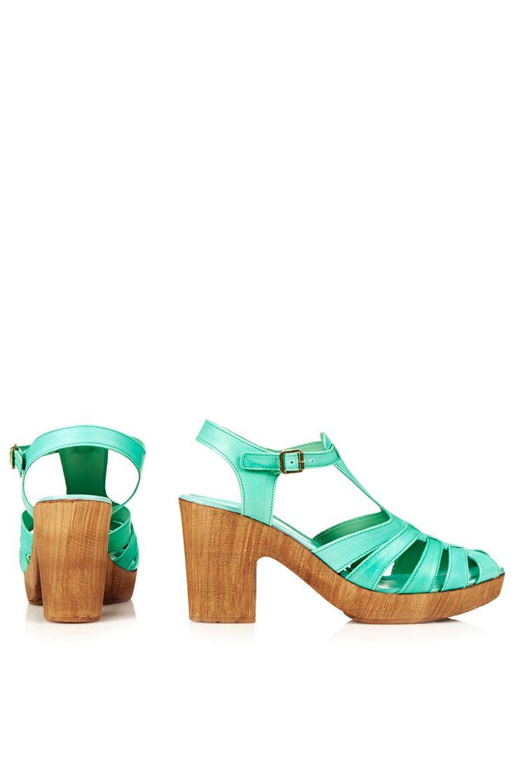 NOTCH Heeled Sandals | Topshop