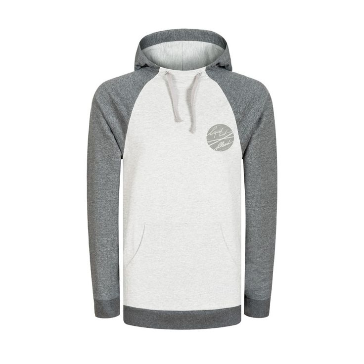 bleed clothing 786f liquid surf hoodie ladies grau