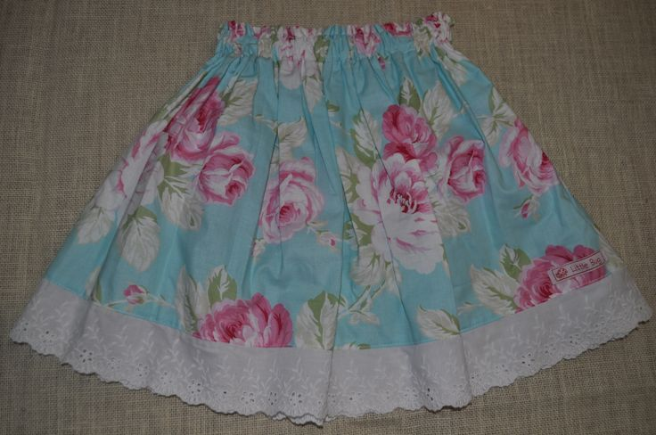 Blossoms & Lace Skirt
