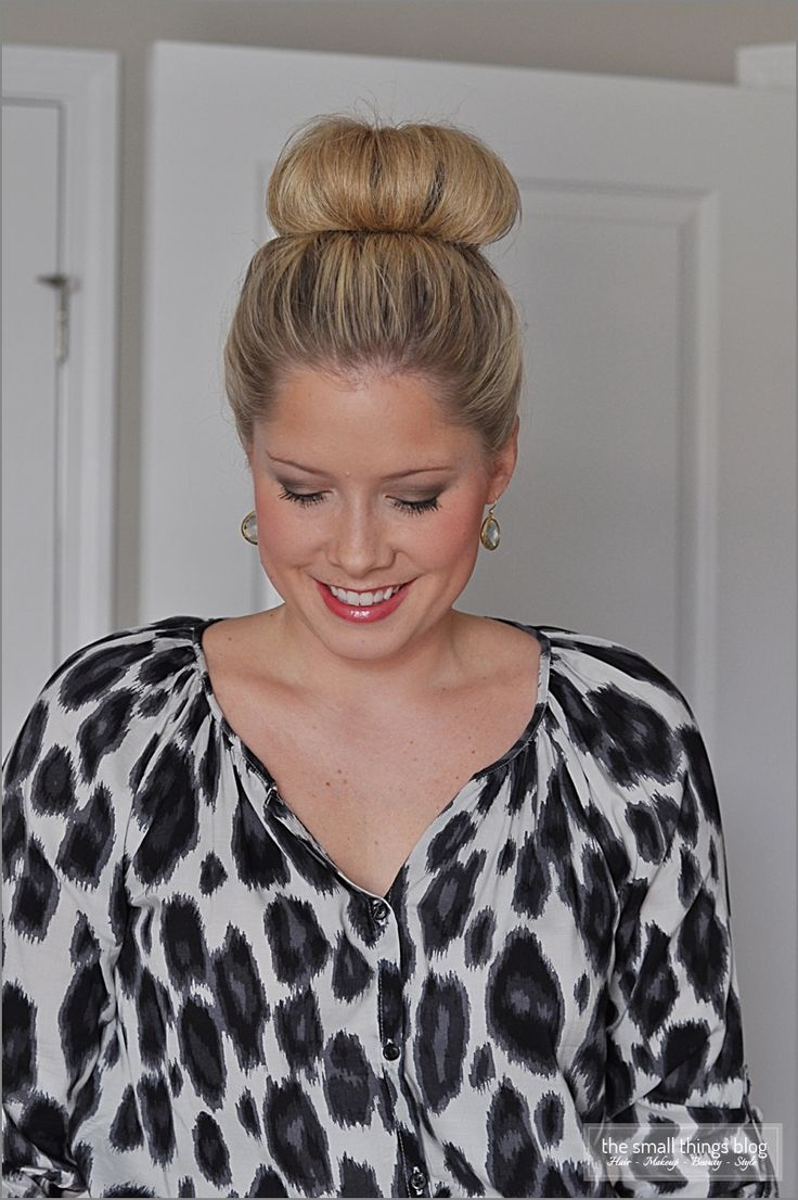 Love this! The Small Things Blog: The High Bun