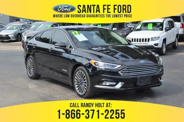 2017 Shadow Black Ford Fusion Hybrid Titanium Fwd Gas Electric I 4 2 0 L 122 Engine Automatic Cvt Sedan Ford Fusion Used Ford Ford