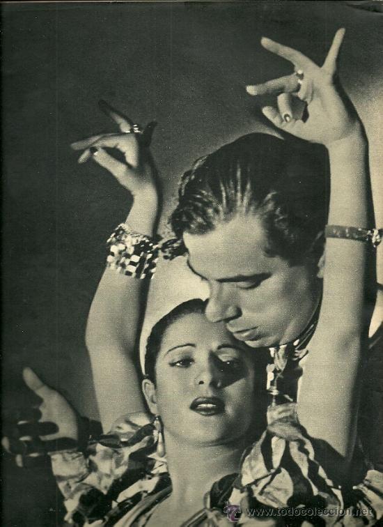 LOLA FLORES Y MANOLO CARACOL REVISTA CAMARA 15 DE MAYO DE 1944