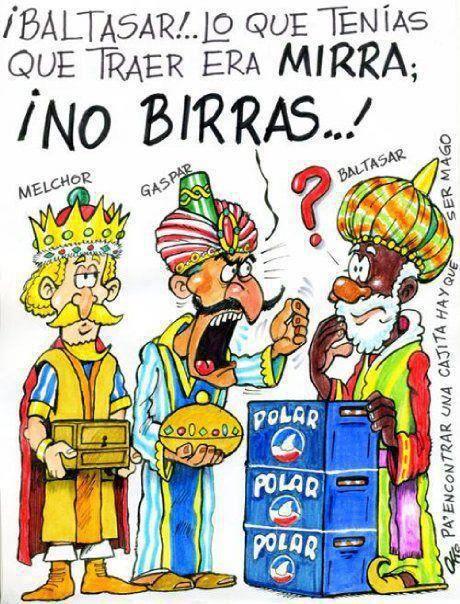 chiste grafico los reyes magos