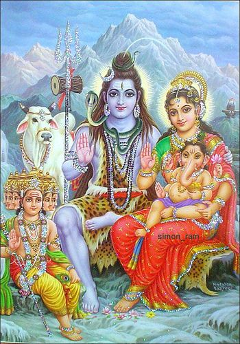 Lord Shiva's family