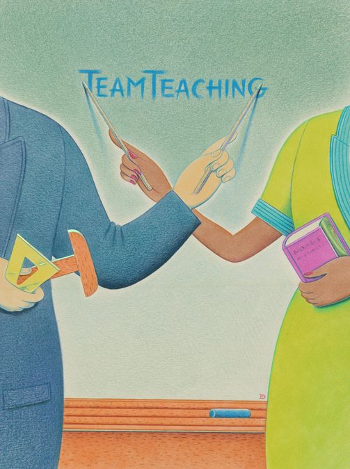 Collaborative Teaching Methodologies ~ Best images about team teaching on pinterest the two