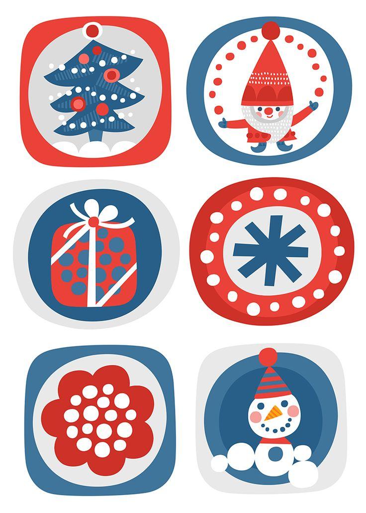 free printable pattern | lasten | lapset | joulu | idea | askartelu | kädentaidot | käsityöt | tulostettava | paperi | kuva | koti | leikki | DIY | ideas | kids | children | crafts | christmas | home | picture | Pikku Kakkonen