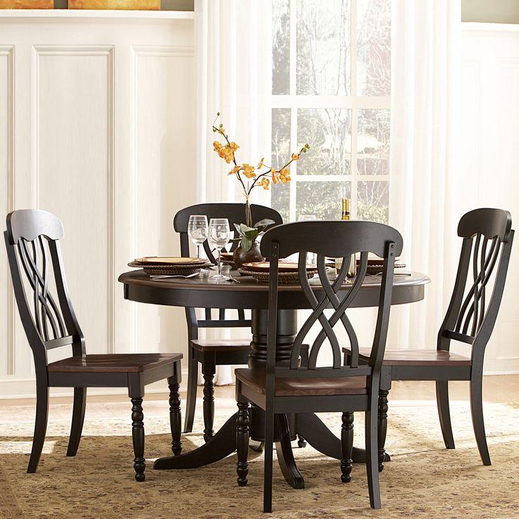 Best 20 black dining tables ideas on pinterest black for Best deals on dining room sets