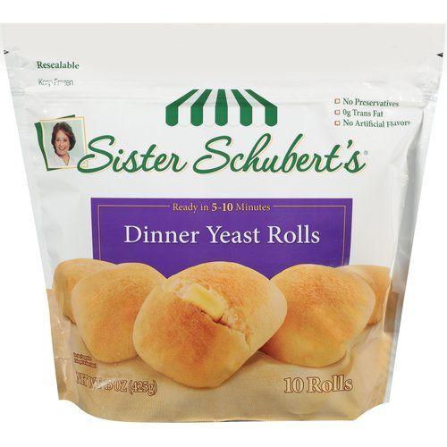 Sister Schubert's Dinner Yeast Rolls,