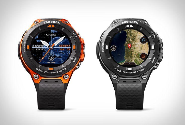 Casio WSD – F20: a Smart Watch For Adventurers