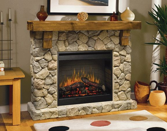 fieldstone rustic electric fireplace playing house pinterest