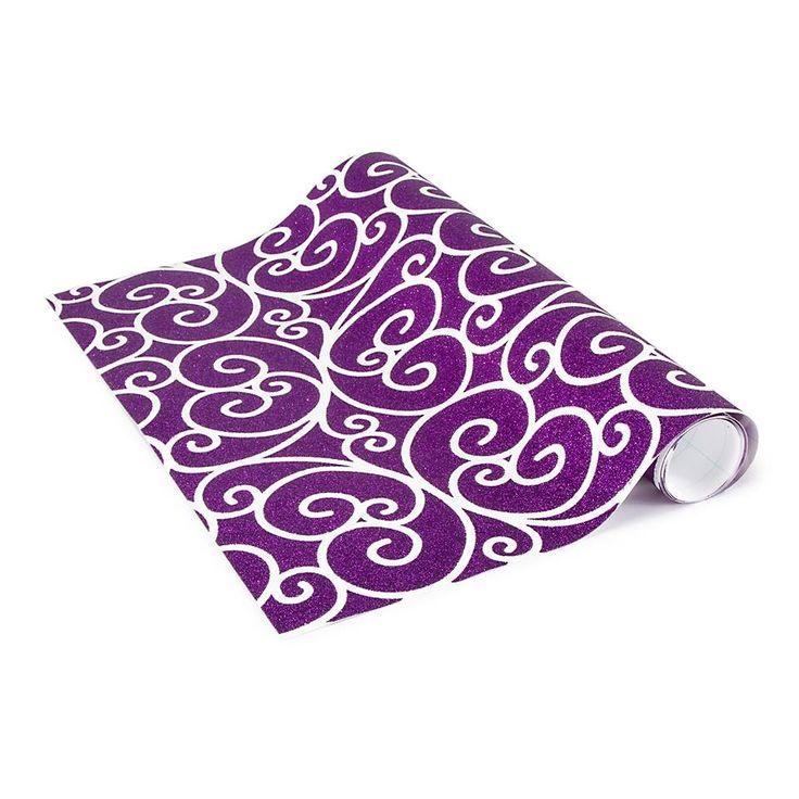 Wallpaper Glitter Purple