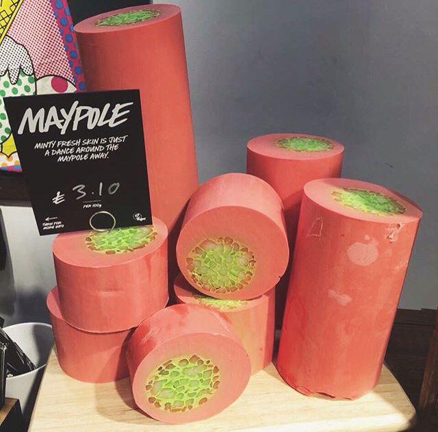 Maypole soap LUSH