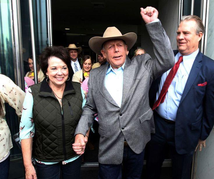 Judge dismisses federal charges against Nevada rancher Cliven Bundy, who calls himself 'a political prisoner' - The Washington Post https://www.washingtonpost.com/news/post-nation/wp/2018/01/08/judge-dismisses-federal-charges-against-nevada-rancher-cliven-bundy-who-calls-himself-a-political-prisoner/