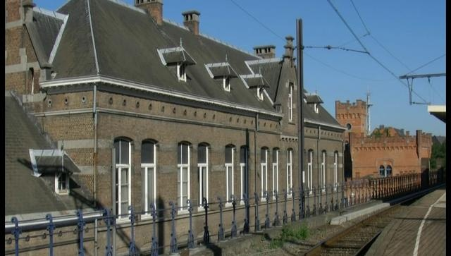 Afbraak gebouw vlakbij station te Aalst waar tal van Huismussen broeden wordt uitgesteld tot na broedperiode.