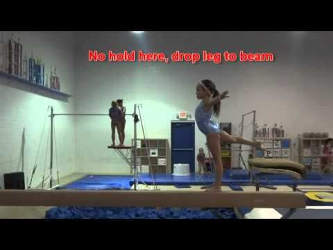 ▶ USAG Level 3 Balance Beam Tutorial: 2013-2021 New Routines! - YouTube