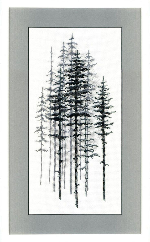 ВТ-1014 Набор для вышивания Crystal Art Туманный лес: продажа, цена в Харьковской области. вышивка нитками и…