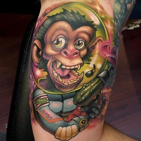 372 best images about spaceman tattoos art on pinterest for Tattoo school edmonton