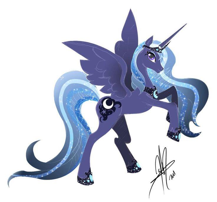 Another Gorgeous Luna by LadyAmaltea (I love Luna!)