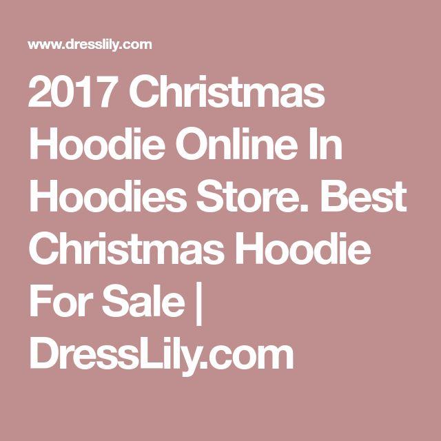 2017 Christmas Hoodie Online In Hoodies Store. Best Christmas Hoodie For Sale | DressLily.com