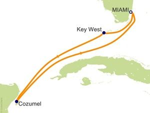 Carnival Victory Itinerary | Carnival Victory Itinerary 2013-2014-2015 Position/Cruise Miami ...
