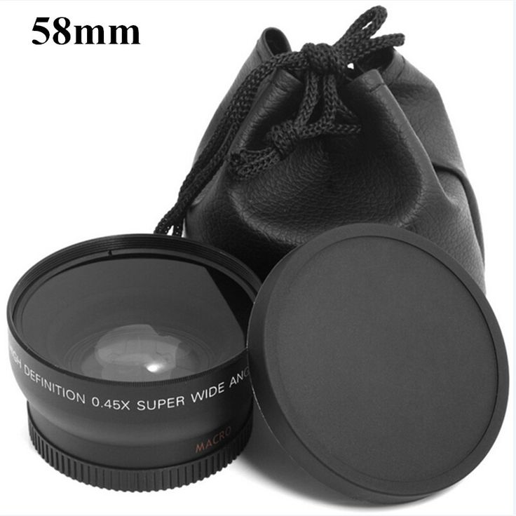 0 45x 58mm 58 Wide Angle Macro Wide Angle Lens Bag 62mm Cap for Canon EOS. #58mm #Wide #Angle #Macro #Lens #62mm #Canon