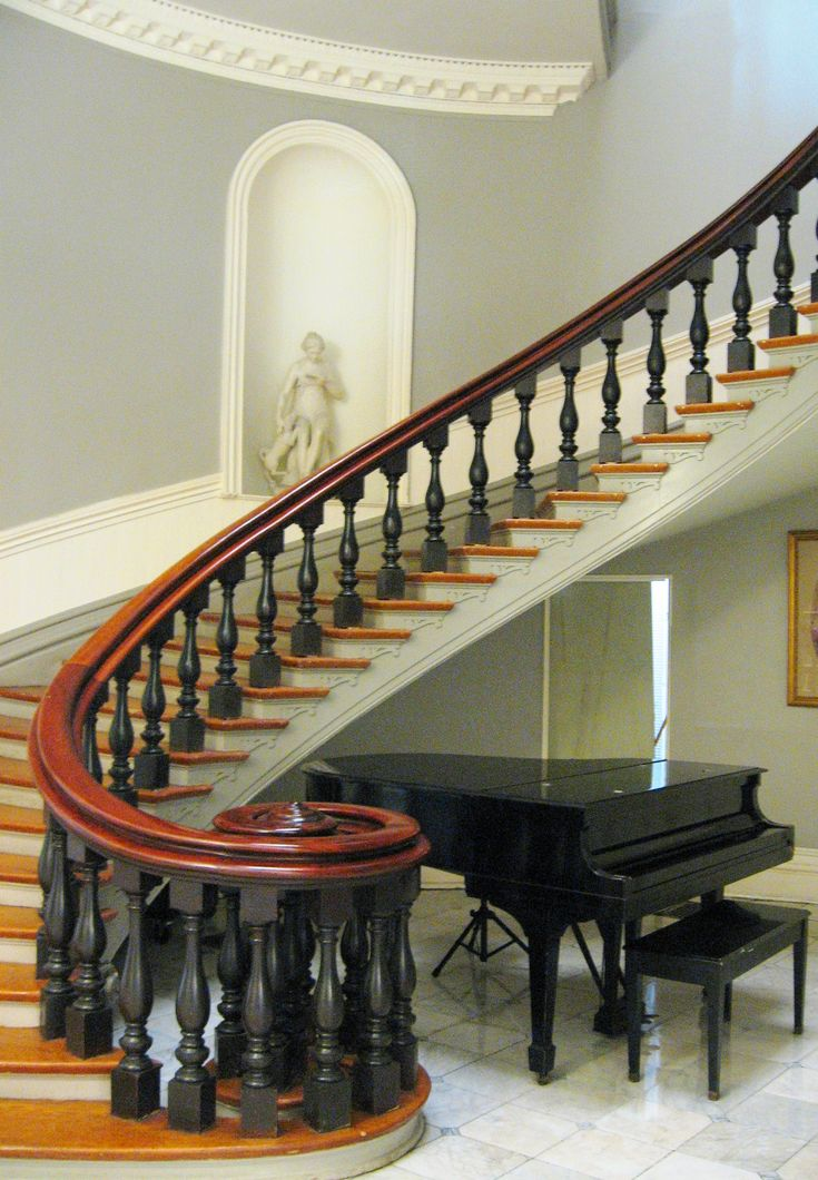 Garden District Staircase Piano New Orleans