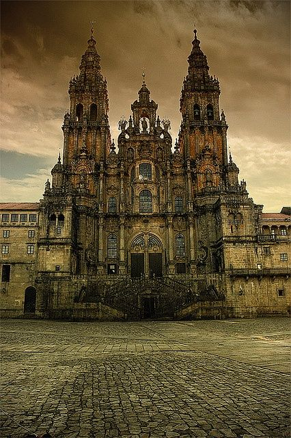Cathedral of Santiago de Compostela, Galicia, Spain, burial place of Saint James the Greater