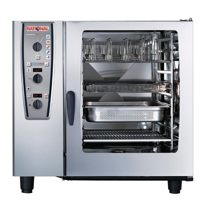 Rational SCC102G/P 10 Grid Self Cooking Center 2/1GN Propane Gas (LPG) Combination Oven - GJ087-P