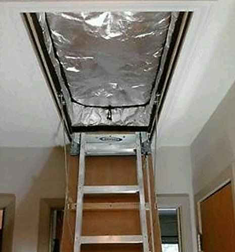 25 X 54 Attic Pull Down Stair Ladder Cover Global Efficient Energy NRG Global Efficient Energy