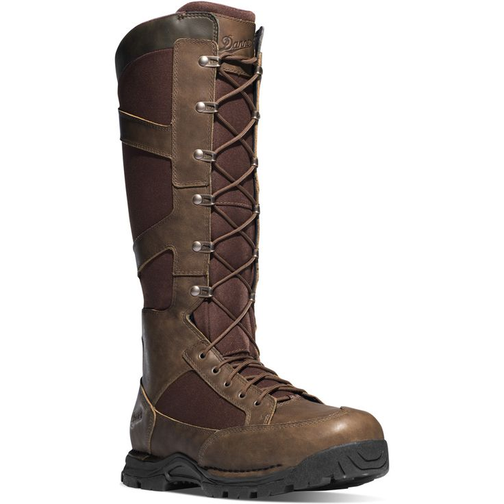 "Danner - Pronghorn Snake Boot Side-Zip 17"" Brown"