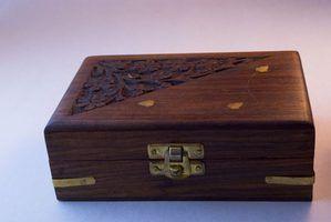 There's no need to throw that empty cigar box out---recycle it into a new treasure.