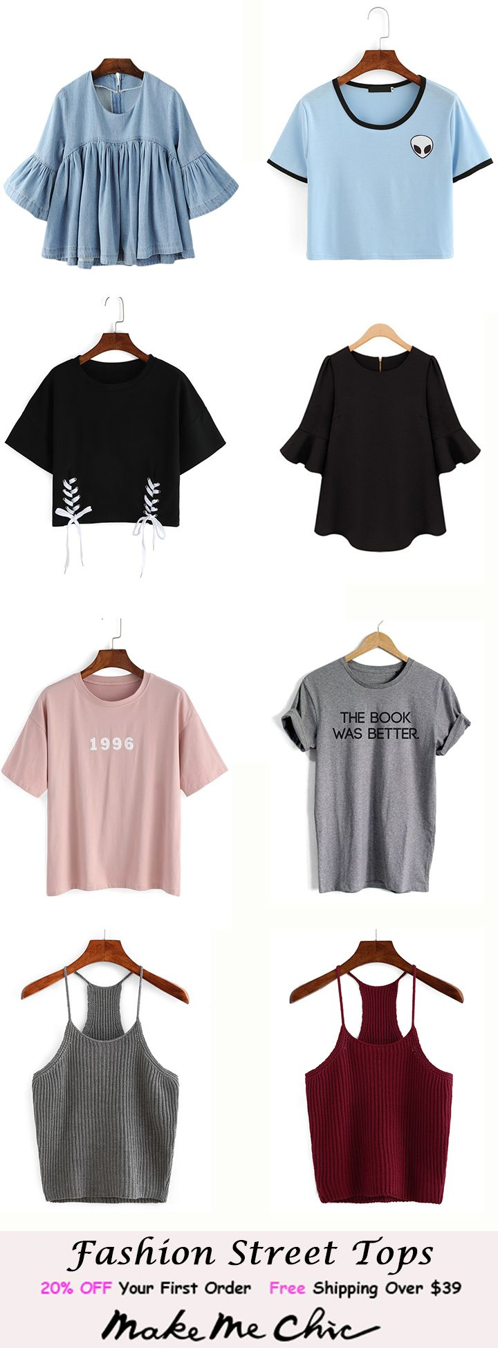Fashion Street Tops