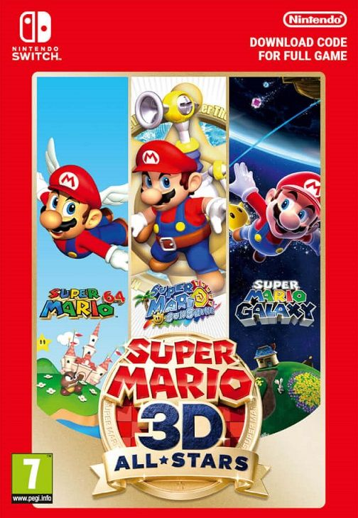 Free Super Mario 3d All Stars Redeem Code Eshop Download Serial Key For Digital Switch Game In 2020 Super Mario 3d Mario Super Mario