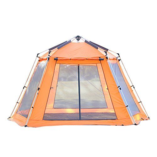 Hengfey Camping Tent Instant Outdoor Family Pop Up Dome Tents for 5-8 Person