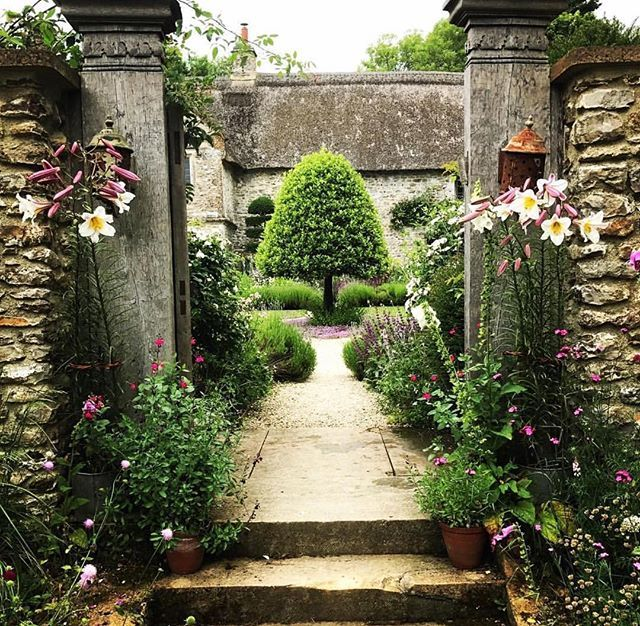 Mediterranean Style Gardens: Best 25+ Tuscan Garden Ideas On Pinterest