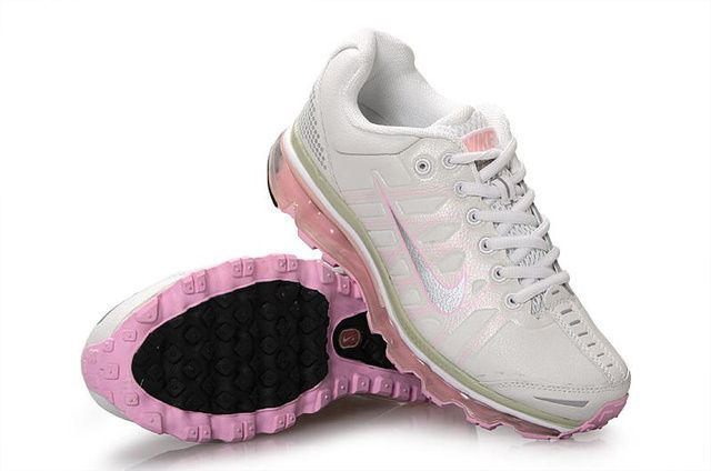 Dames Wit Roze Nike Air Max 2009 Fashion Schoenen 36128