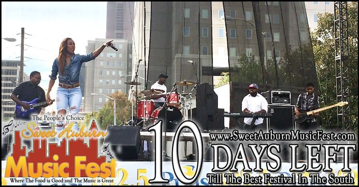 10More Day till the best festival in the Atl! Something there for everyone in the Family! Hope to see you there! @sweetauburnmusicfest  #sweetauburnmusicfest #samusicfest #samusicfest2017 #Atlanta #picoftheday #1 #hiphop #randb #musicians #music #soul #jazz #gospel #fest #festival #auburnave #edgewood #4thward #history #vendors #food #international #Georgia #family #friends #people #goodfoodgreatmusic @ericadawsonexclusive