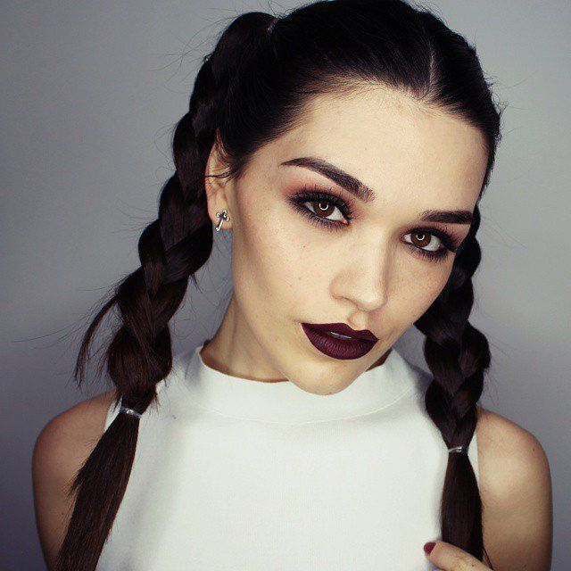 Pin for Later: From Chic to Fleek: The 60 Best Brows on Instagram Pigtails on Fleek