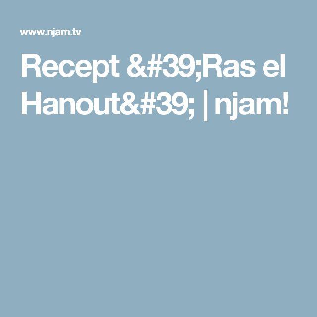 Recept 'Ras el Hanout' | njam!