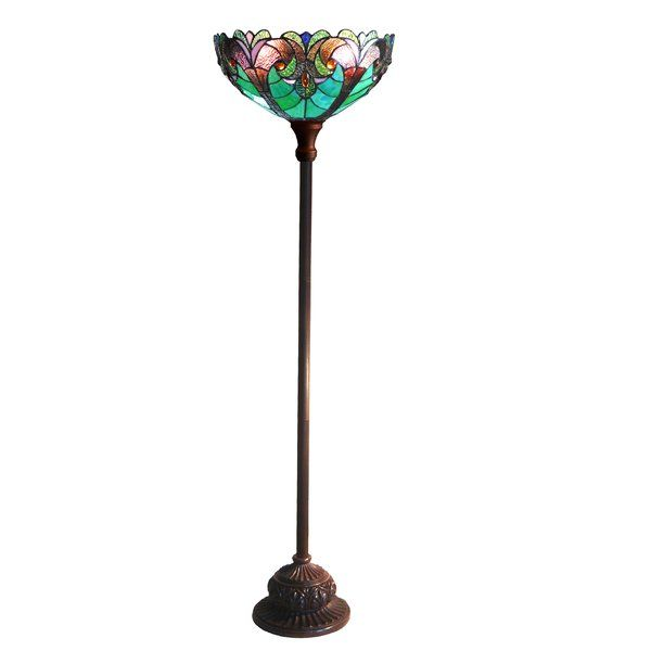 Laurie 71 Torchiere Floor Lamp Torchiere Floor Lamp Tiffany Designs Tiffany Style